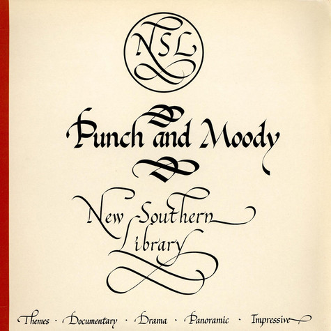 Ray Manderson / John Gregory - Punch And Moody