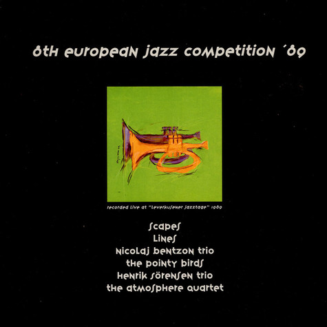 V.A. - 8th European Jazz Competition ´89