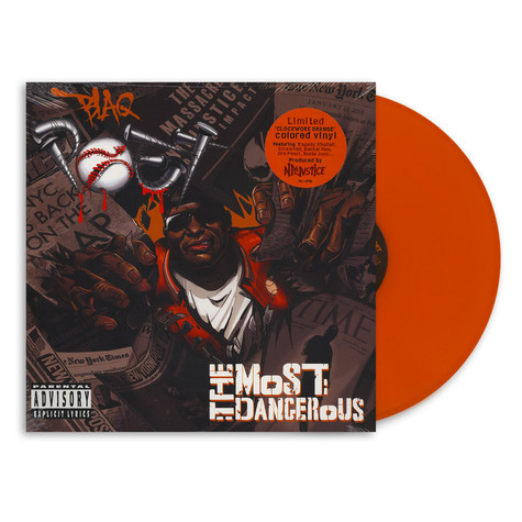 Blaq Poet - The Most Dangerous Orange Vinyl Edition
