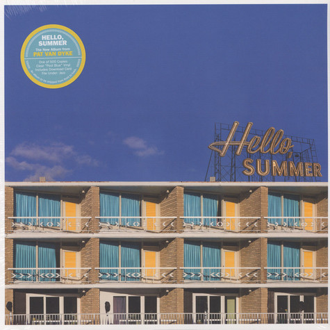 Pat Van Dyke - Hello, Summer Blue Vinyl Edition