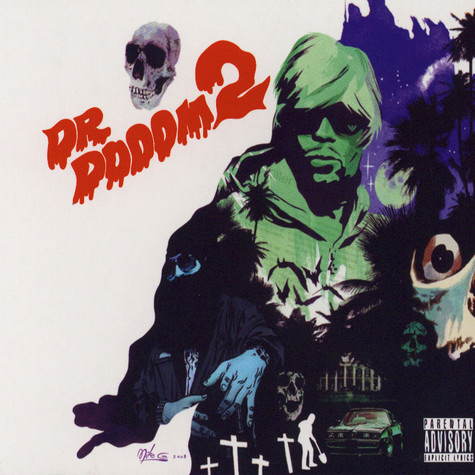 Dr. Dooom aka Kool Keith - Dr. Dooom 2 10th Anniversary Edition Signed By Kutmasta Kurt