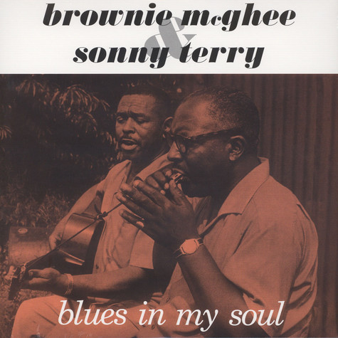 Brownie McGhee & Sonny Terry - Blues In My Soul Audiophile Clear Vinyl Edition