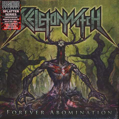 Skeletonwitch - Forever Abomination Green With Yellow & Black & Mint Splatter Vinyl Edition