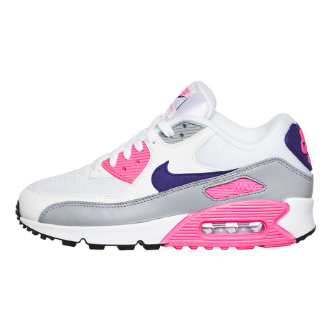 separation shoes bdfc1 343b9 Nike. WMNS Air Max 90 (White   Court Purple   Wolf Grey   Laser Pink)