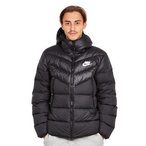 36fed22f180ddb Nike - Windrunner Down Fill Jacket (Black   Black   Black   White)