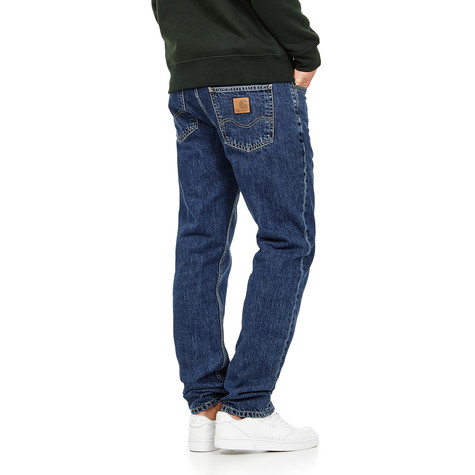 "Carhartt WIP - Texas Pant ""Edgewood"" Blue Denim, 12 oz"
