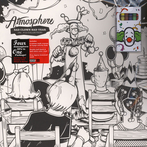 Atmosphere - Sad Clown Bad Year #9 - #12 Collection