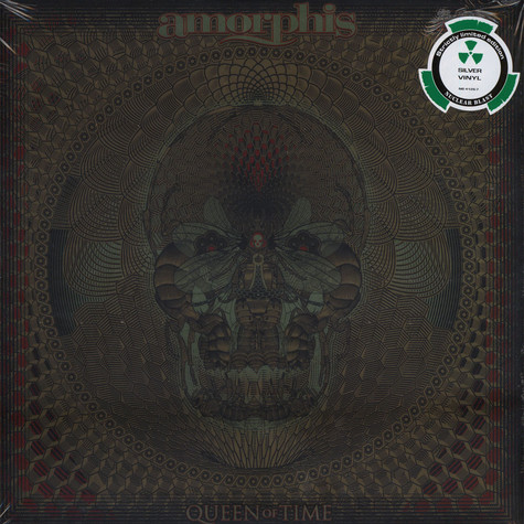 Amorphis - Queen Of Time Silver Vinyl Edition
