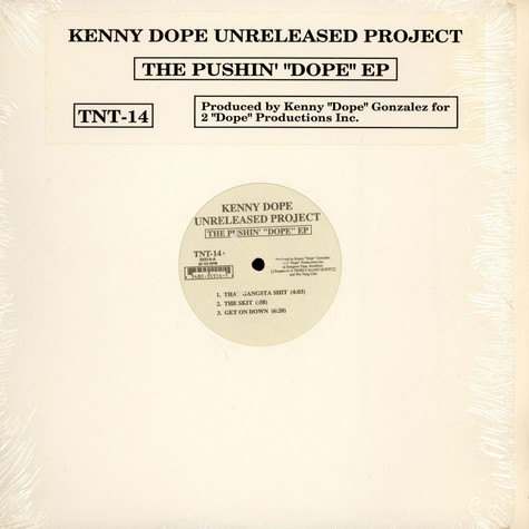 """Kenny Dope - The Pushin' """"Dope"""" EP"""