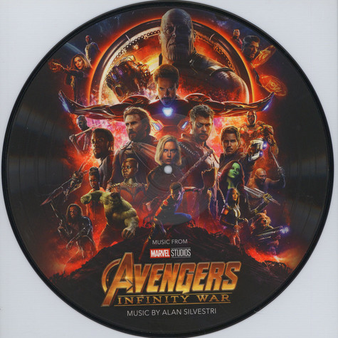 Alan Silvestri - OST Avengers: Infinity War Picture Disc Edition