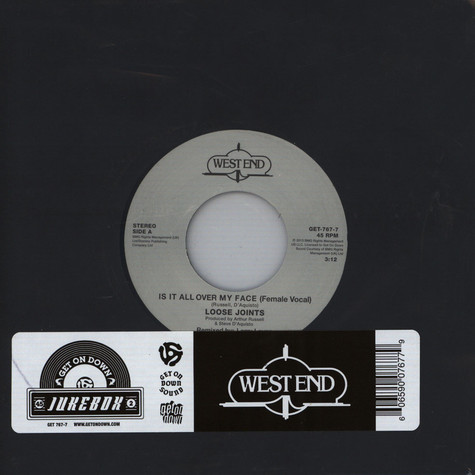 Loose Joints - Is It All Over My Face