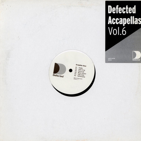 V.A. - Defected Accapellas Vol. 6