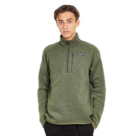 Patagonia Better Sweater 14 Zip Industrial Green Hhv