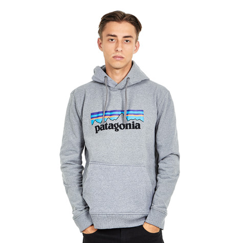 c12f9050c66 Patagonia - P-6 Logo Uprisal Hoody (Gravel Heather)