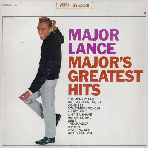 Major Lance - Major's Greatest Hits