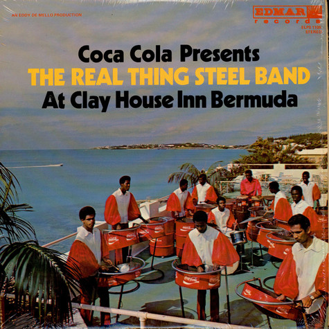 Real Thing Steel Band, The - Coca Cola Presents The Real Thing Steel Band At Clay House Inn, Bermuda