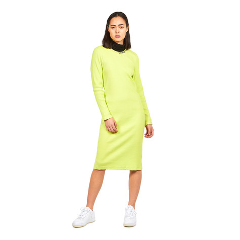 e22cf86c55 Stüssy - Temple LS Rib Dress (Safety Yellow)