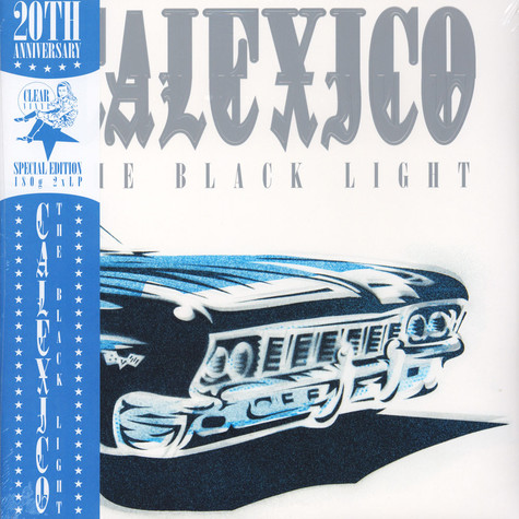 Calexico - The Black Light 20th Anniversary Edition Clear Vinyl Edition