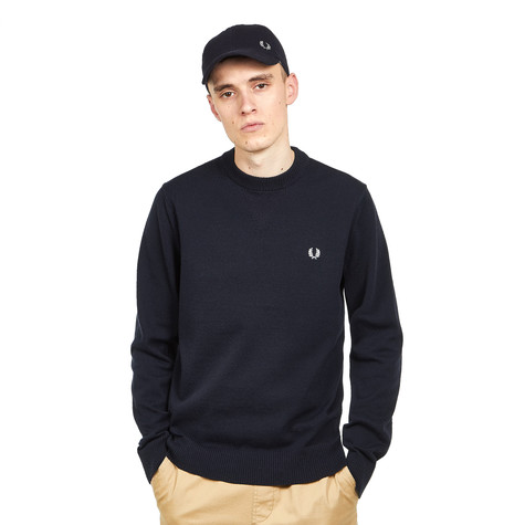 7e374dc98f8 Fred Perry - V Insert Crew Neck Jumper