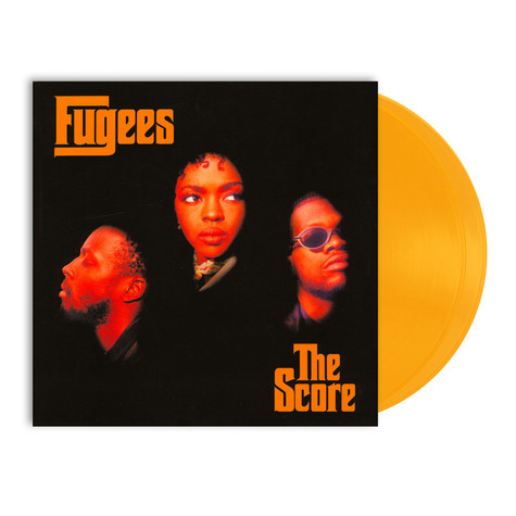 Fugees - The Score Limited Solid Gold & Orange Vinyl Edition