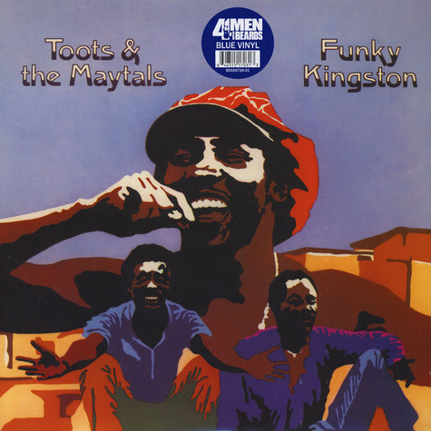 Toots & The Maytals - Funky Kingston Blue Vinyl Edition