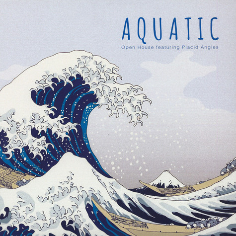 Open House - Aquatic Featuring Placid Angles Black Vinyl Edition