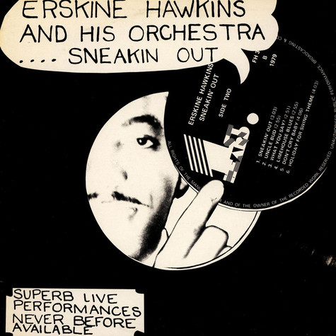 Erskine Hawkins And His Orchestra - Sneakin' Out