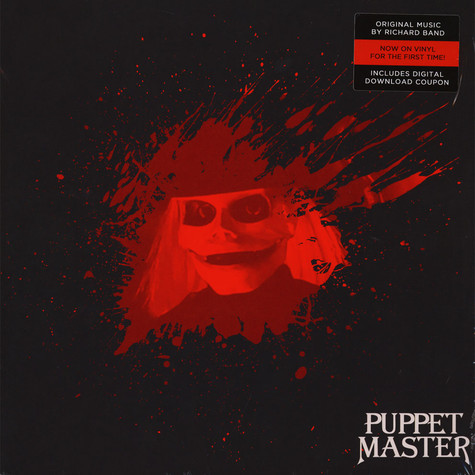 Richard Band - OST Puppet Master Blade's Eye White Colored Vinyl Edition
