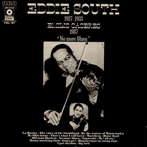 "Eddie South - Emilio Caceres - ""No More Blues"" Eddie South 1927-1933 - Emilio Caceres 1937"