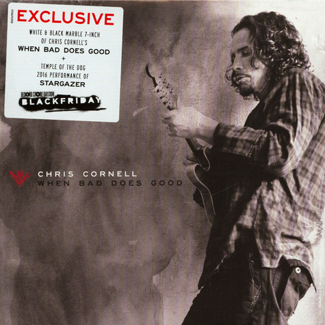 Chris Cornell - When Bad Does Good White & Black Marble Colored Vinyl Edition