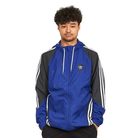 a68013cbe adidas Skateboarding. Insley Jacket (Active Blue / Dgh Solid Grey / White)
