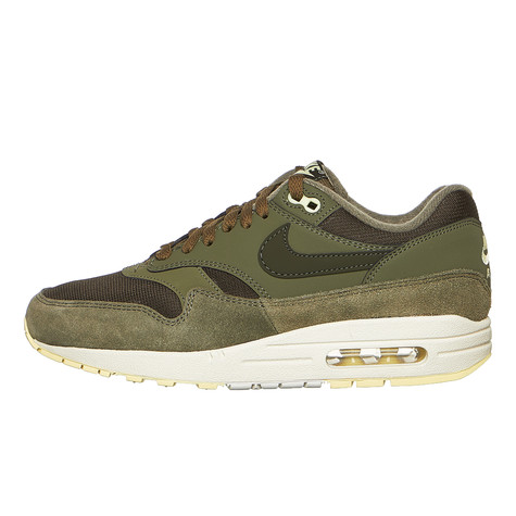 more photos 3ed73 8e292 Nike. WMNS Air Max 1 (Sequoia   Sequoia   Medium Olive)