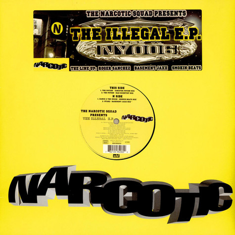 Narcotic Squad, The - The Illegal E.P.