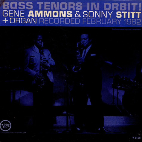 Gene Ammons And Sonny Stitt - Boss Tenors In Orbit