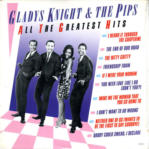 Gladys Knight And The Pips - All The Greatest Hits
