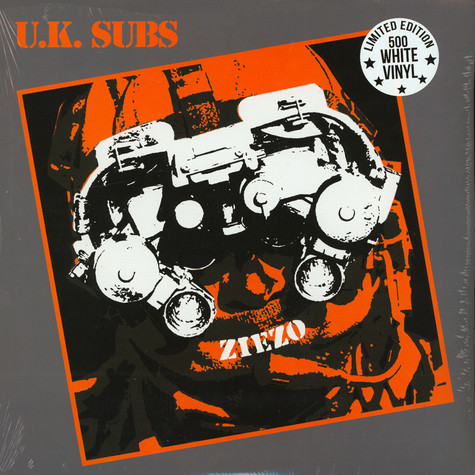 UK Subs - Ziezo (Limited White Vinyl Edition)
