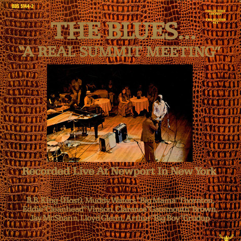 "V.A. - The Blues... ""A Real Summit Meeting"" (Recorded Live At Newport In New York)"