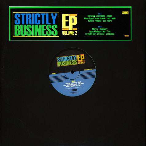 V.A. - Strictly Business Ep Volume 2