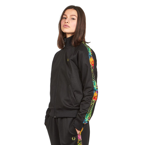 Fred Perry - Liberty Print Sports Track Jacket