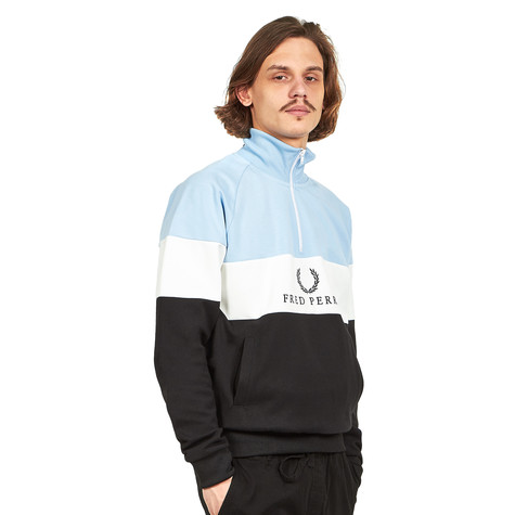 Fred Perry - Embroidered Panel Sweatshirt