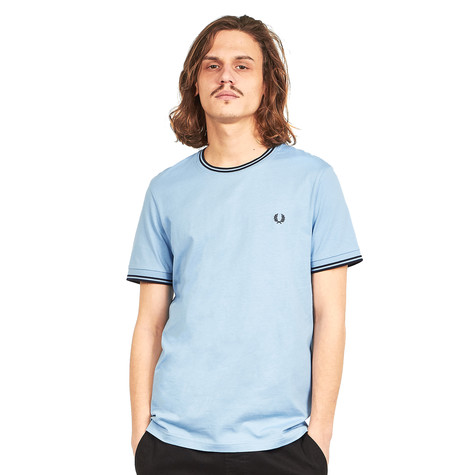 e2aa1de92d15 Fred Perry - Twin Tipped T-Shirt (Sky) | HHV