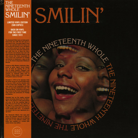 The Nineteenth Whole - Smilin'
