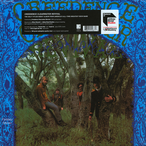 Creedence Clearwater Revival - Creedence Clearwater Revival Limited Half Speed Mastered Edition