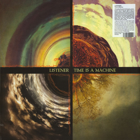 Listener - Time Is A Machine Petrol Colored Vinyl Edition