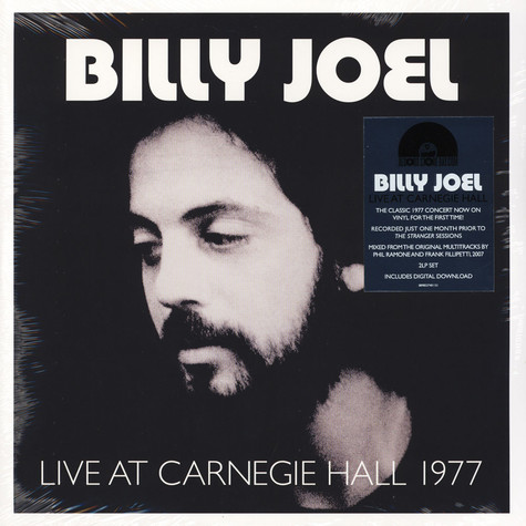 Billy Joel - Live At Carnegie Hall 1977 Record Store Day 2019 Edition