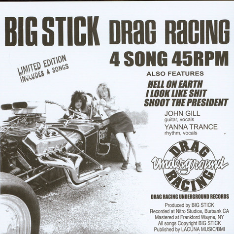 Big Stick - Drag Racing Record Store Day 2019 Edition