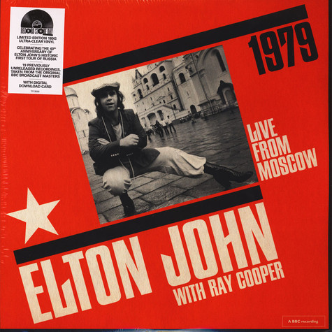 Elton John - Live From Moscow Colored Vinyl Record Store Day 2019 Edition