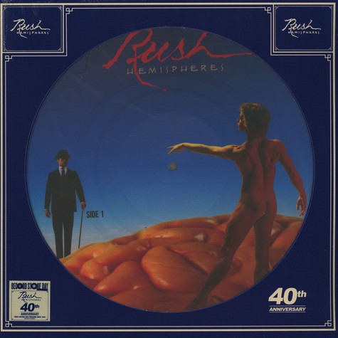 Rush - Hemispheres Picture Disc Record Store Day 2019 Edition
