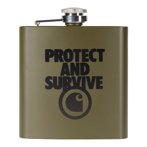 Carhartt WIP - Protect Survive Whiskey Flask