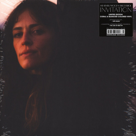 Heather Woods Broderick - Invitation Coral & Seawater Colored Vinyl Edition